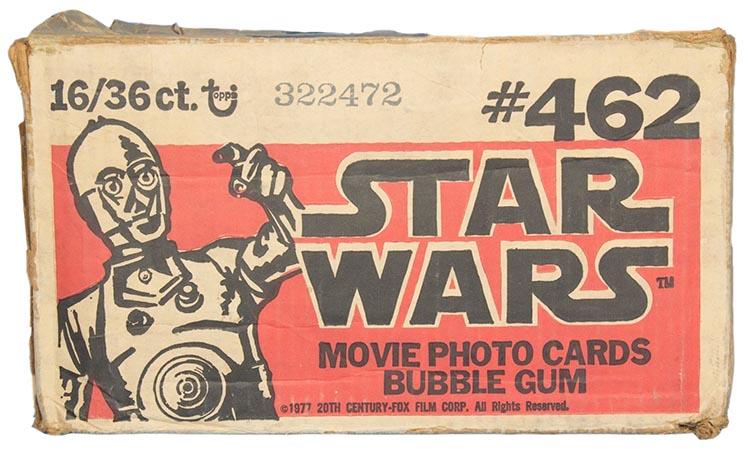 1977 Topps Star Wars Series 1 Case