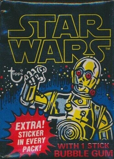 Topps Star Wars Card Trader History of Han Wave 2 GREEN Evacuating the Princess