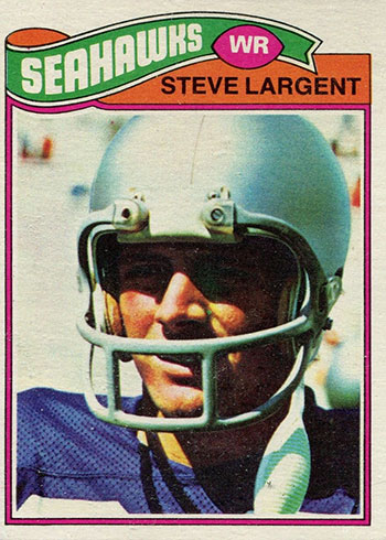 1977 Topps Steve Largent Rookie Card