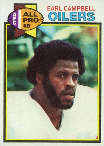 1979 Topps Earl Campbell RC