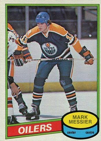 1980-81 O-Pee-Chee Mark Messier RC