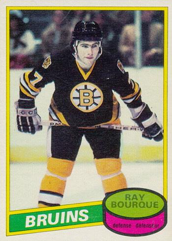 1980-81 O-Pee-Chee Ray Bourque RC