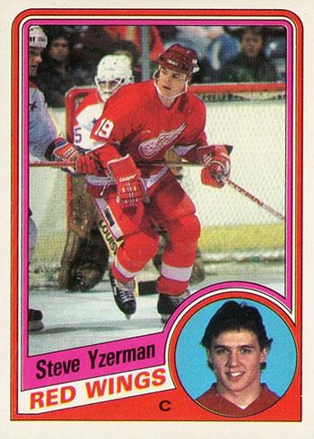 1984-85 O-Pee-Chee Steve Yzerman RC