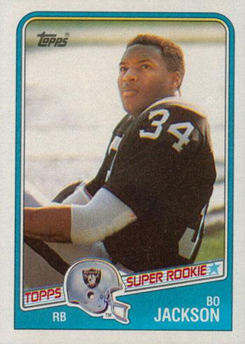 1988 Topps Bo Jackson RC