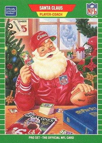 1989 Pro Set Santa Claus