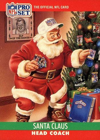 1990 Pro Set Santa Claus