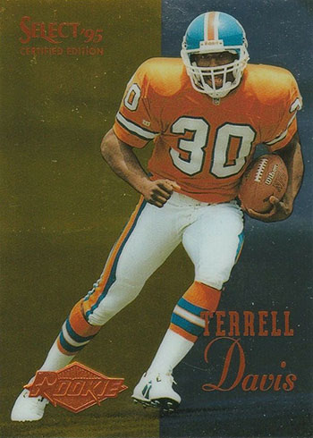 1995 Select Certified Terrell Davis