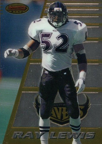 1996 Bowman's Best Ray Lewis