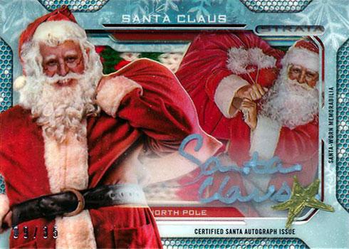 2013 Topps Strata Shadowbox Signatures Santa Claus