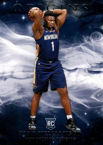 2019-20 Panini Origins Basketball Variations Zion Williamson