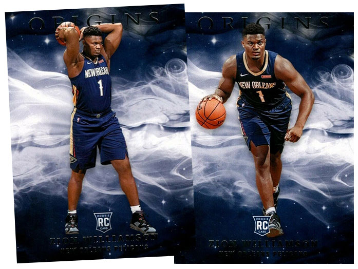 2019-20 Panini Origins Basketball Variations