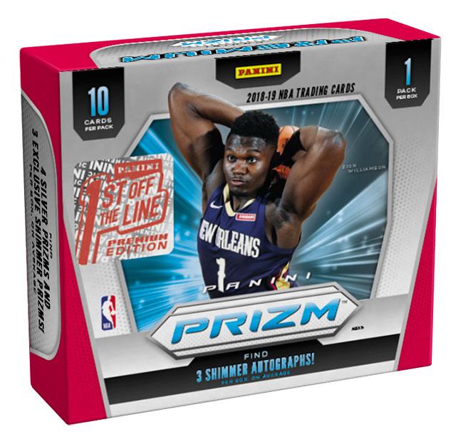 2019-20 Panini Prizm Basketball FOTL Premium Edition Box