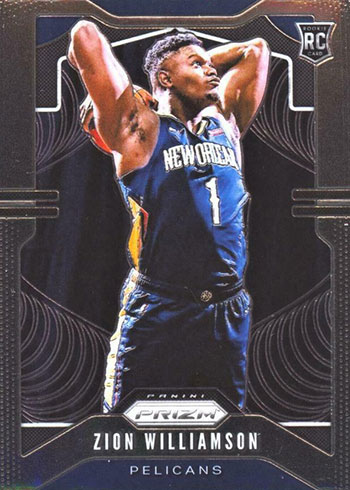 2019-20 Panini Prizm Zion Williamson RC
