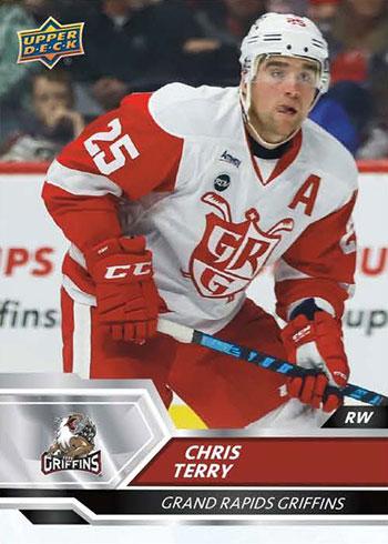 2019-20 Upper Deck AHL Chris Terry