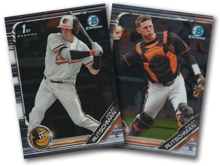 2019 Bowman Chrome Draft Baseball Variations