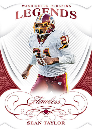 2019 Panini Flawless Football Legends Ruby
