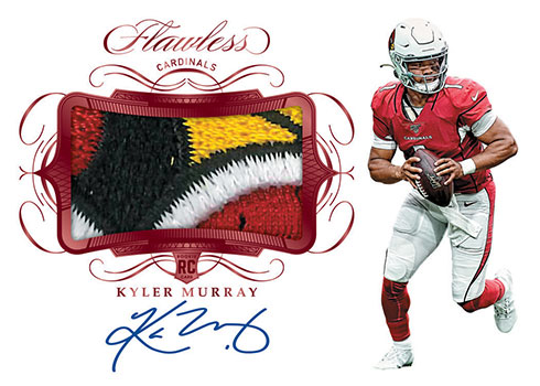 2019 Panini Flawless Football Rookie Patch Autographs