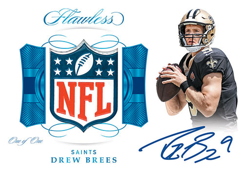 2019 Panini Flawless Football Shield Signatures