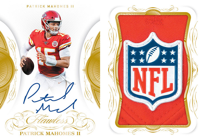 2019 Panini Flawless Football Veteran Booklets