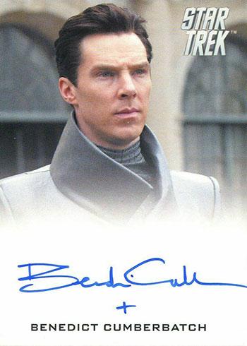2019 Rittenhouse Star Trek Inflexions Benedict Cumberbatch Autograph
