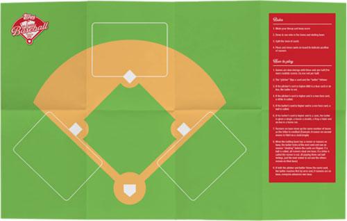 2019 Topps 52-Card Baseball Mat