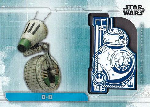 TOPPS STAR WARS THE RISE OF SKYWALKER 3 X  LTD CARDS FINN//BB-8//CHEWBACCA