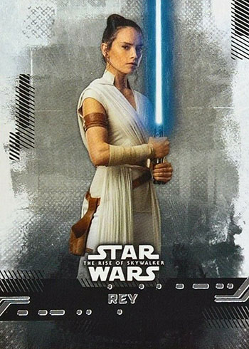 2019 Topps Star Wars: Rise of Skywalker Base Rey