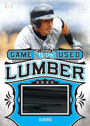 2020 Leaf Lumber Kings Baseball Game-Used Lumber