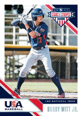 2020 Panini Stars and Stripes Baseball Base
