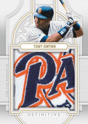 2020 Topps Definitive Collection Baseball Definitive Patch Collection