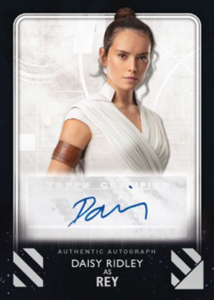2020 Topps Star Wars: Rise of Skywalker Series 2 Autograph