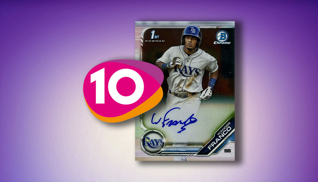 Top 10 2019 Baseball Cards That Got Collectors Talking And Chasing