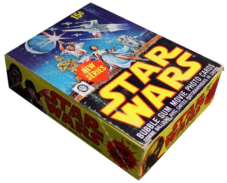 1977 O-Pee-Chee Star Wars Series 2 Box