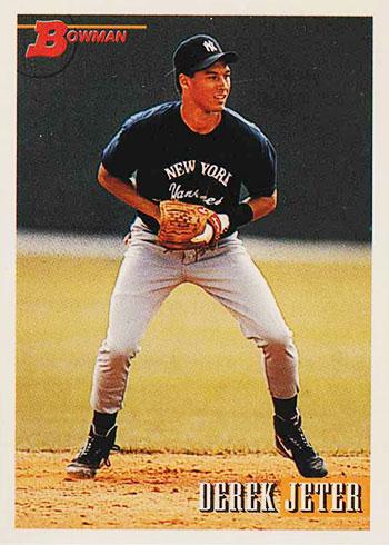 1993 Bowman Derek Jeter Rookie Card