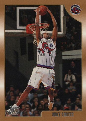 1998-99 Topps Vince Carter Rookie Card