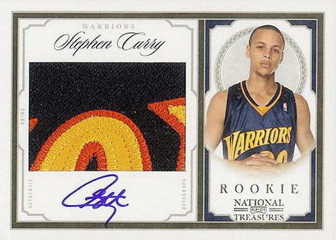 2009-10 Playoff National Treasures Stephen Curry RC