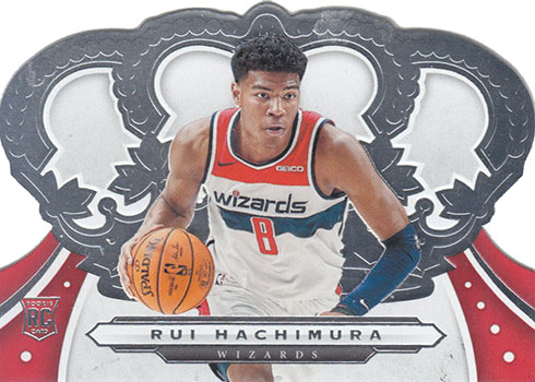 2019-20 Panini Crown Royale Basketball Rui Hachimura RC
