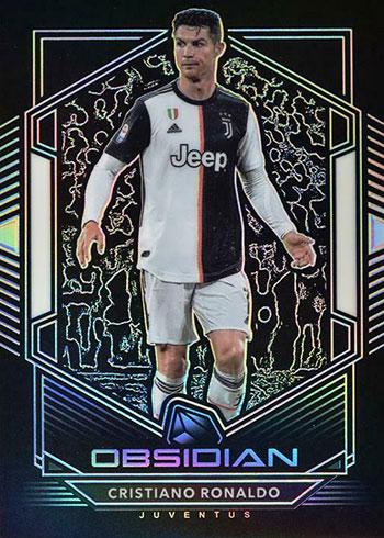 2019-20 Panini Obsidian Soccer Cristiano Ronaldo