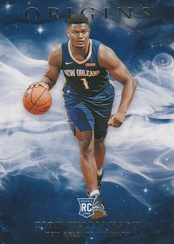 2019-20 Panini Origins Zion Williamson Rookie Card