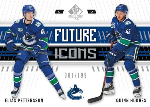 2019-20 SP Authentic Hockey Future Icons