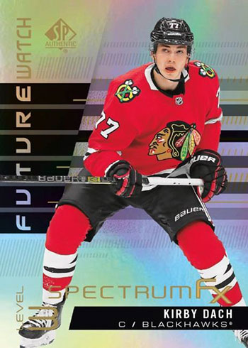 2019-20 SP Authentic Hockey Spectrum FX