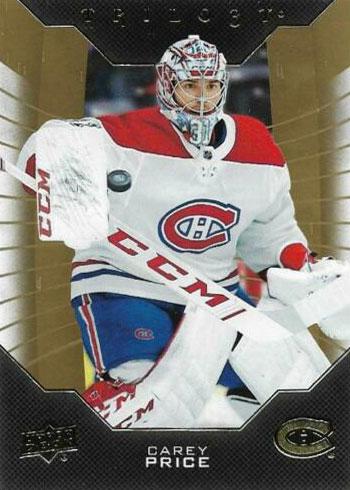 2019-20 Upper Deck Trilogy Hockey Carey Price