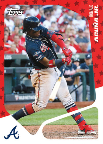 2019 Topps Throwback Thursday Baseball 1 Ronald Acuna Jr.