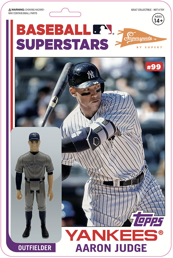 2020 Topps Big League Baseball Super7 Variation Figure