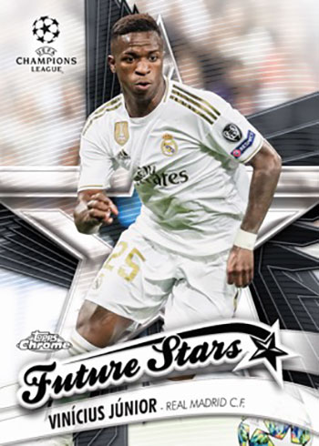 2020 Topps Chrome UEFA Champions League Soccer Future Stars