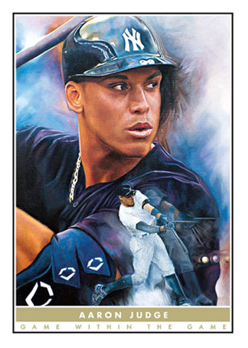 2020 Topps Game Within the Game Baseball Aaron Judge