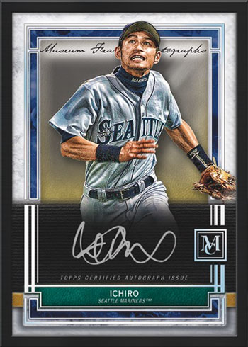 2020 Topps Museum Collection Baseball Museum Framed Autograph