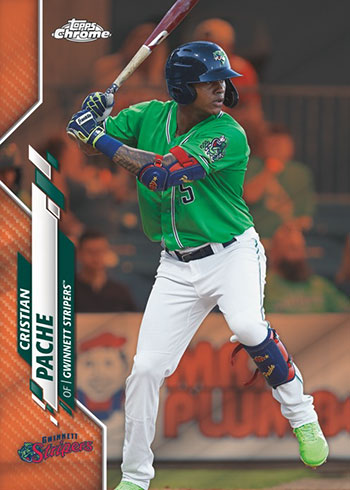 2020 Topps Pro Debut Baseball Chrome Orange Refractor