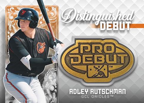 2020 Topps Pro Debut Baseball Distinguished Debut Medallion