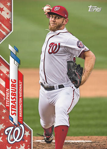 2020 Topps Series 2 Baseball Independence Day